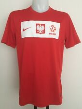 POLAND 2012-14 S/S AWAY SHIRT BY NIKE SIZE MEN'S LARGE BRAND NEW WITH TAGS