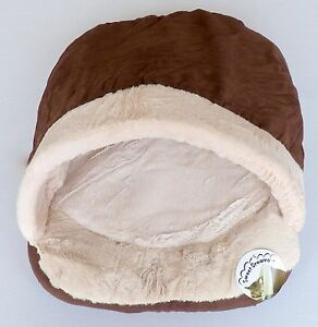 Faux Suede World of pets Cat Sleeping Shoe Fleece Lining Non woven Base