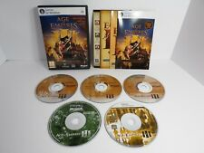 Age of Empires III 3 Complete Collection Warchiefs Asian Dynasties PC Game CIB