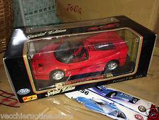 MAISTO Special Edition BMW FERRARI F50 F 50 SPIDER 1995 1/18 new boxed