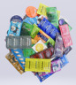 50 CONDOMS  Lifestyles, Crown, One & More Condoms Variety Pack Bulk Pack