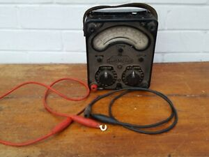 Cool Vintage Retro Universal Avometer Model 8 with Leads - Untested