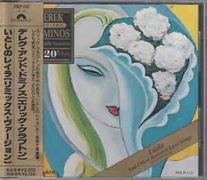 Derek and the Dominos  CD  LAYLA  AND OTHER ASSORTED ©  JAPAN
