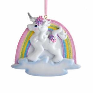 Kurt Adler Unicorn Magical Christmas Ornaments New Free Ship