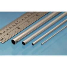 Albione leghe MICRO TUBO in alluminio 305mm lunghezze 0.6 X 0.4 mm (3 pezzi) mat06
