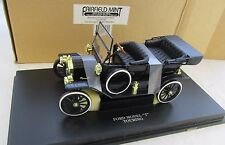 1924 Ford Model T Touring Black 1/18 Fairfield Mint In Box With Stand #4307