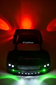 Deluxe RC LED Light Set For Traxxas HPI Losi with Universal Mounting #65