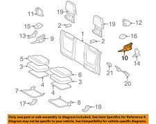 TOYOTA OEM 09-18 Tacoma Rear Seat-Seat Hinge Left 7266004020