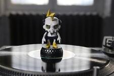 "Turntable Topper  DJ TRAKKZ vinyl figure 4.5"" tall  TT Topperz Keeps Record Safe"