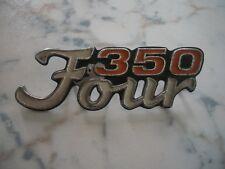 HONDA CB 350 four SCRITTA  ORIGINALE