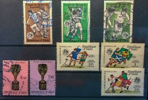 Haiti Less common issues: 1982 World Cup / 1971 Jules Rimet Cup
