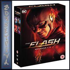 THE FLASH COMPLETE SEASONS 1 2 3 & 4 - DC SERIES 1 - 4  ** BRAND NEW DVD BOXSET