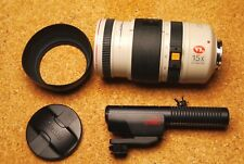 Canon CL 8-120mm/1.4-2.1 AF VL 15x zoom lens + Canon HiFi stereo zoom microphone