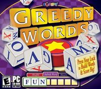 Greedy Words PC Games Windows 10 8 7 XP Computer word game dice crosswords NEW