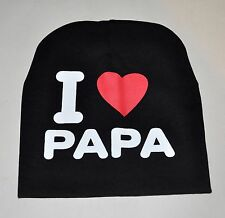 Child's hat i love papa age 2 - 4
