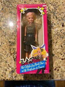 NIB 1986 Creata Blonde Hair LACE CELEBRITY ROCK STAR DOLL #1681