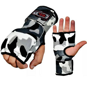 CRAZE Gel Inner Gloves Wrist Hand Wrap Padded Foam MMA Boxing Bandages Muay Thai