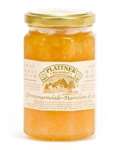 Zitronen - Marmelade 350 gr. - Plattner