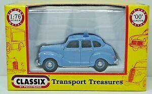 MINT Classix EM76807 Austin A40 Devon Taxi Car in Conway Blue 00 Gauge