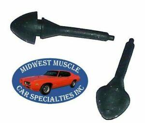 GM Chevy Pontiac Rubber Ashtray Glove Box Console Door Bumper GTO Chevelle 2pc B