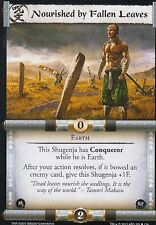 3 x Nourished by Fallen Leaves L5R CCG Thunderous Acclaim ThA