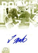 2015 Prestige Rookie Autographs Printing Plates Yellow #297 Ty Montgomery Packer