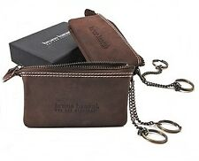 Bruno Banani Men's Women's Unisex Key Case Pouch Key Pouch Leather NEW