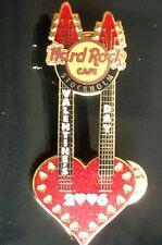 HRC hard rock cafe estocolmo Valentines Day 2006 Double Neck Guitar le1200