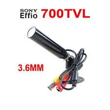 "1/3"" Sony CCD 700TVL Mini Bullet Security CCTV Surveillance Camera"