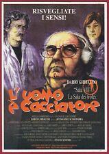 L'UOMO È CACCIATORE 01 CINEMA FILM MOVIE GHIBAUDO BRAILO' CERNOTTI QUINTAVALLE