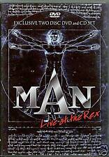 MAN Live at the Rex | DVD + CD Neuware | THE RIDE AND THE VIEW