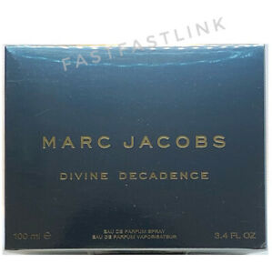 MARC JACOBS DIVINE DECADENCE EDP 100ml SPRAY WOMENS PERFUME...NEW+ GENUINE