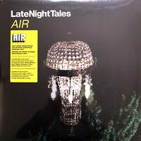 AIR 2xLP LateNightTales - Limited Edition 500 copies, 180g Vinyls - UK