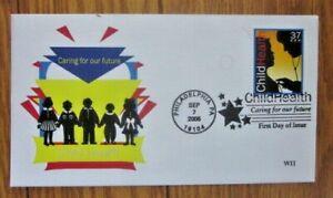 CHILD HEALTH BABY REGULAR CHECKUPS 2005  UNKNOWN CACHET FDC UNADDR