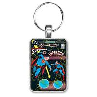 DC Comics Presents Superman and Superboy #87 Cover Key Ring or Necklace