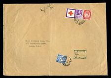 POSTAGE DUE GB 1963 RED CROSS 3d + 2 1/2d to CANINE INSURANCE 4d TO PAY