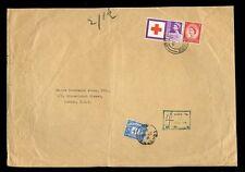 En port dû GB 1963 Croix Rouge 3D + 2 1 / 2d à l'assurance canine 4D à payer