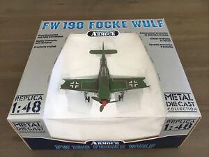 Armour Collection CDC Franklin Mint 98080 German FW-190 Focke Wulf 1/48 New