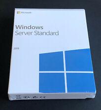 Windows Server 2019 Standard 64bit 16 Cores New Sealed Box USB Flash Drive