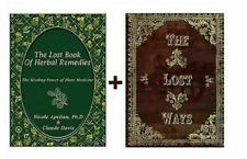 The Lost Book of Remedies Herbal Medicine by Claude Davis....P̾D̾F