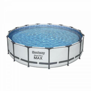 Piscina fuori terra rotonda Bestway Steel Pro Max 56488 457x107 cm