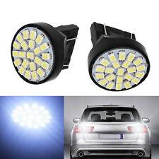 2X Led T25 3156 3157 22SMD Car Stop Signal Turn Lamp Tail Brake Light White 12V