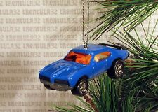 1969 PONTIAC GTO JUDGE '69 BLUE ORANGE CHRISTMAS ORNAMENT XMAS