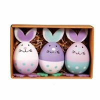 3pcs Colorful Easter Rabbits Eggs Toy For Kids Gift Adult Novelty Toys Children
