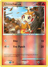 Chimchar Reverse Holo Common Pokemon Card Pt1 Platinum 70/127