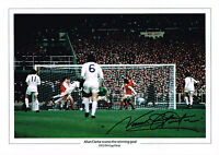 NORMAN HUNTER SIGNED PHOTO AUTOGRAPH COA LEEDS UNITED UTD FA CUP FINAL 1972 2