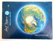 Pan American Jet Clipper Route Maps Atlas 1967