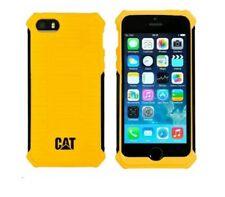 Gato Resistente Funda Rígida Parachoques urbano Active iPhone 6 6S + Plus Negro Amarillo