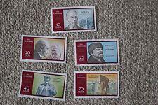 100. Geburtstag Lenins 1557 - 1561, postfrisch