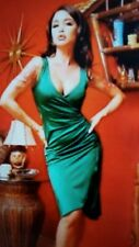 Pinup Couture Emerald  Green Greta Dress Size Medium St. Patrick's Day wiggle